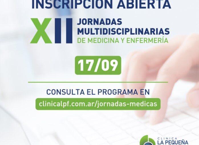 Clínica La Pequeña Familia: XII Jornadas Multidisciplinarias de Medicina y Enfermería-Edición 2021